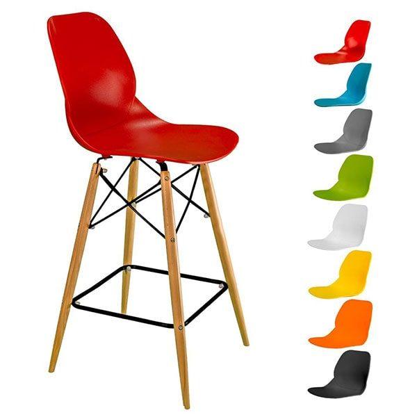 صندلی کندو کد K600 اپنی با پایه بلند چوبی