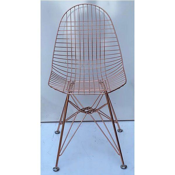 صندلی پاپیتال کد p 560 G پایه درختی (گلد)