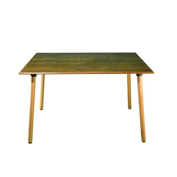 میز کد TM505 چهار پایه استوانه ایی مربع 80*80