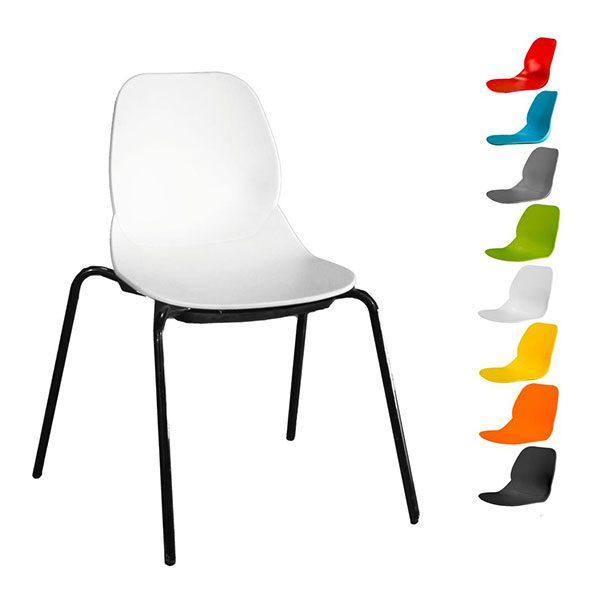 صندلی کندو کد K540s با پایه خرچنگی (استاتیک)