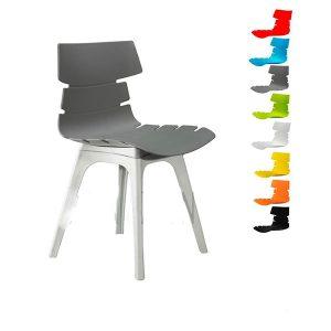 صندلی مرجان کد M520 پایه پلاستیکی