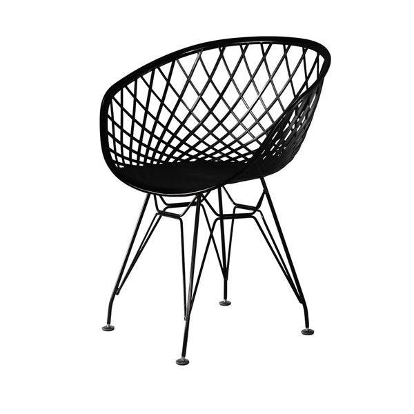 صندلی بامبو کد BA 530s پایه ایفلی استاتیک
