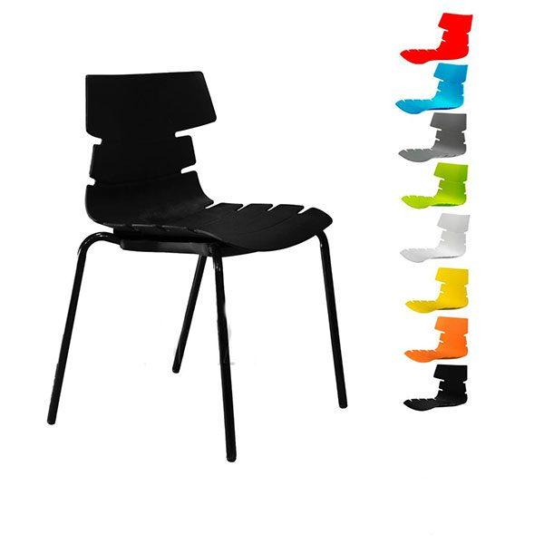 صندلی مرجان کد M 540s پایه لوله ایی استاتیک