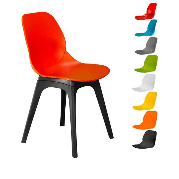 صندلی کندو کد K520 چهارپایه پلاستیکی