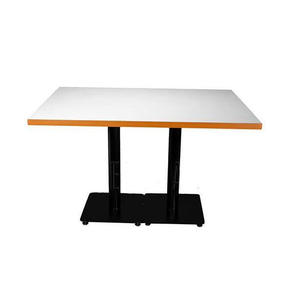 میز بارسا کد TR 400s دوپایه استاتیک و صفحه 80*120 وکیوم